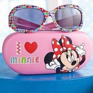NWT! Disney Minnie Mouse Sunglasses and Case Set
